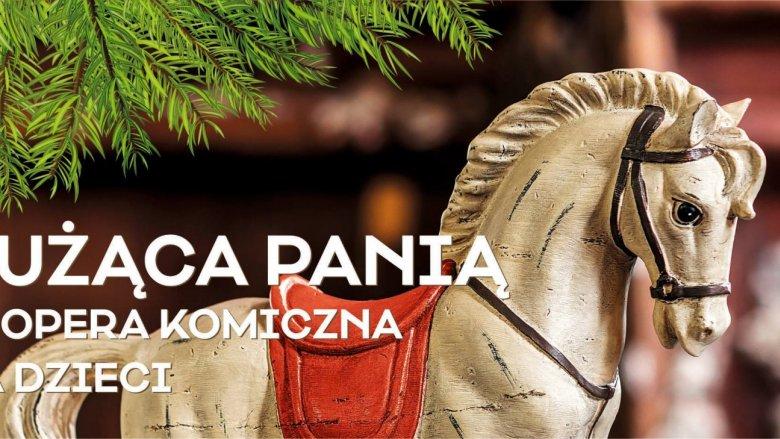 """Opera dla dzieci """"Służąca Panią"""" dedykowana jest widzom w wieku 6-10 lat (fot. FB Katowice Miasto Ogrodów)"""