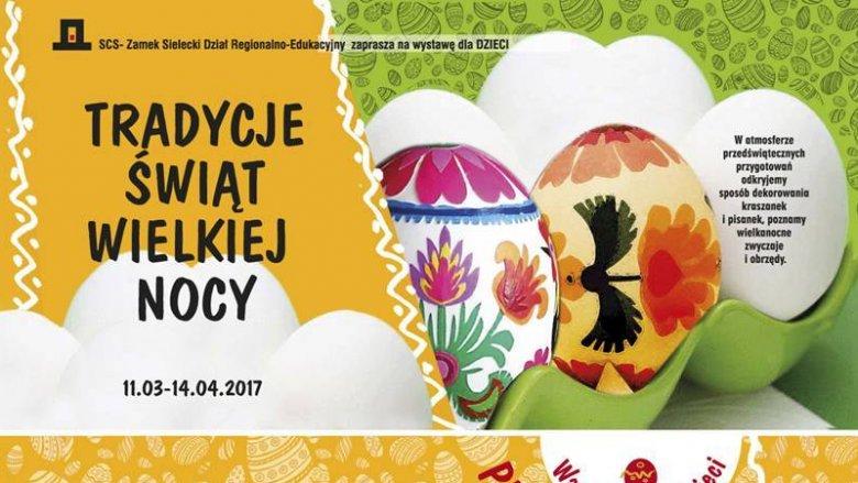 Wielkanocne zwyczaje poznacie odwiedzając Zamek Sielecki (fot. mat. FB Sosnowieckie Centrum Sztuki - Zamek Sielecki)