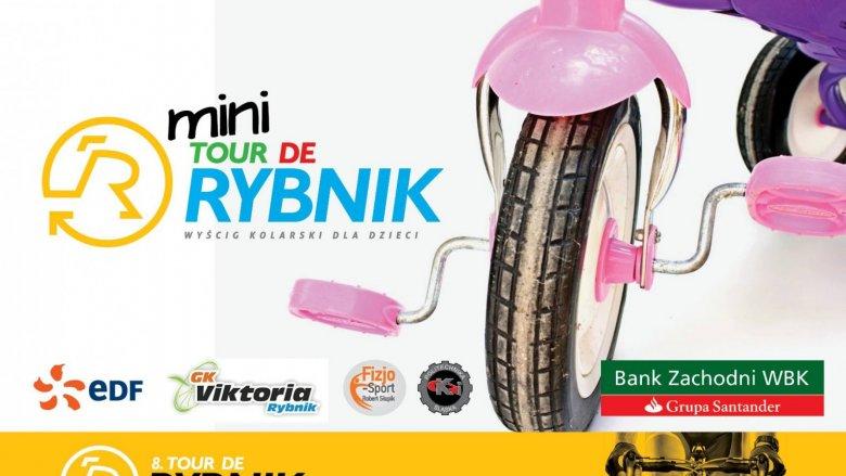 Na mini Tour de Rybnik pojawią się młodzi fani rowerów i zmierzą się na specjalnie przygotowanej trasie (fot. mat. organizatora)