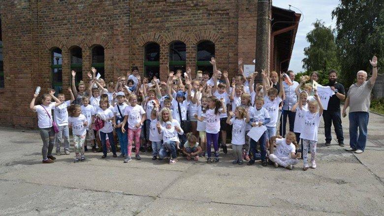 Uczestniczące w warsztatach dzieci stworzą własne miasto (fot. mat. organizatora)
