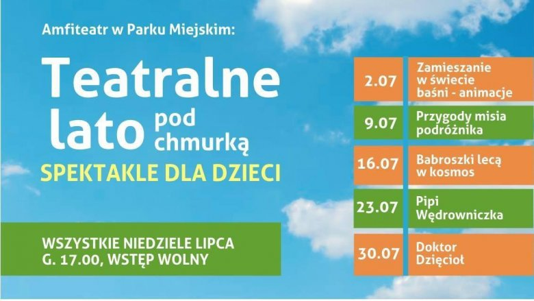 """""""Teatralne lato pod chmurką"""" to niedzielne spektakle w siemianowickim amfiteatrze (fot. mat. organizatora)"""