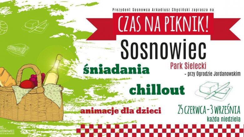 """""""Czas na piknik"""" to sosnowieckie śniadaniowe imprezy plenerowe (fot. mat. organizatora)"""
