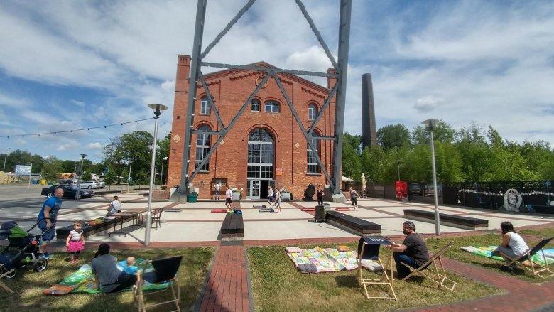 Pikniki Energo-Aktywne odbywają się w każdą wakacyjną sobotę (fot. mat. FB Siemianowickie Centrum Kultury)