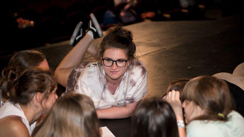 Dzięki warsztatom dzieci będą współtwórcami sztuki teatralnej (fot. Bartłomiej Bit)