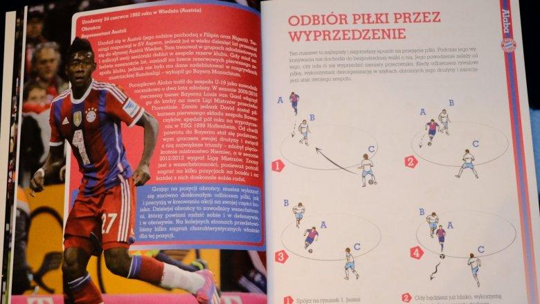 Ciekawe pomysły na książki o piłce nożnej znajdziecie w wydawnictwie RM (fot. Ewelina Zielińska)