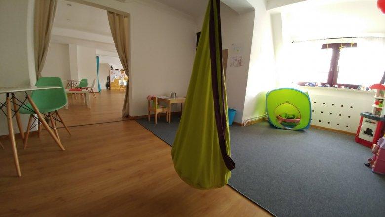 Przebudowywany jest parter kawiarni, jednak na piętrze - w sali zabaw, również pojawiły się pewne zmiany (fot. mat. Pli Pla Plo)