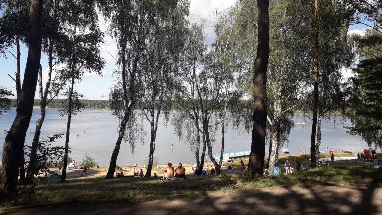 Celem jest Zalew Nakło-Chechło (fot. Agnieszka Mróz/SilesiaDzieci.pl)