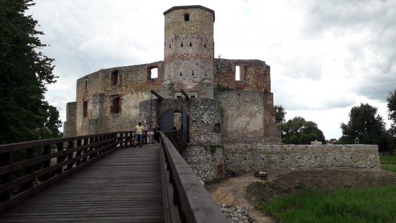 Ruiny zamku zwiedzimy bezpłatnie (fot. mat. Agnieszka Mróz/SilesiaDzieci.pl)