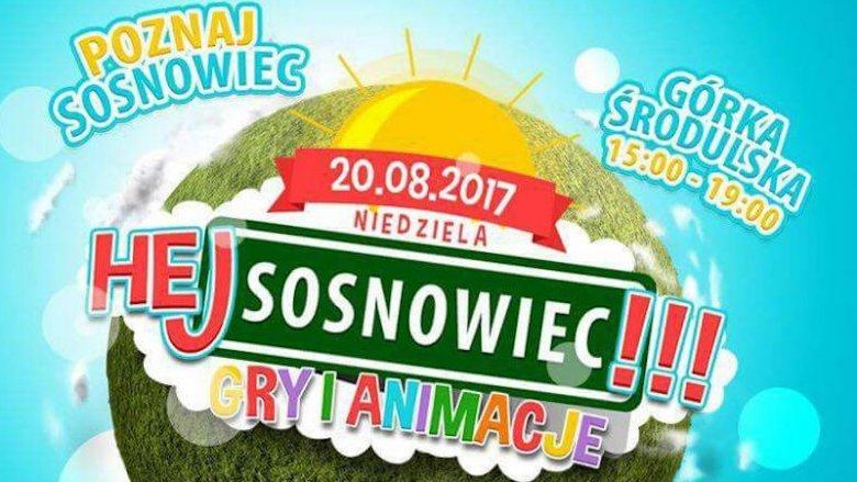 """""""Hej Sosnowiec!"""" to gry i zabawy tematyczne dla dzieci, które odbędą się 20 sierpnia (fot. mat. organizatora)"""