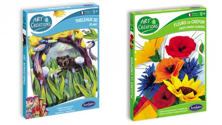 Miłośnikom natury i przyrody spodobają się zestawy poświęcone azjatyckim lasom czy polnym kwiatom (fot. Plac Francuski)