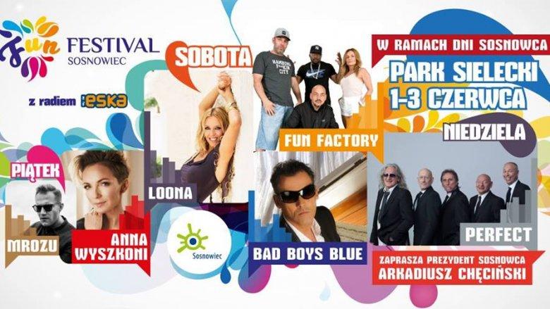 Najbliższy weekend przeniesie uczestników Fun Festivalu w muzyczne klimaty lat 80. (fot. mat. organizatora)