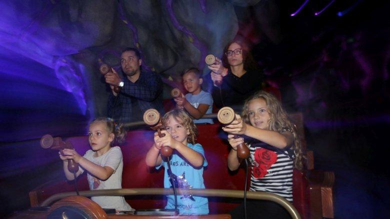 """Interaktywna gra """"Bazyliszek"""" to atrakcja dla całej rodziny (fot. mat. Legendii)"""