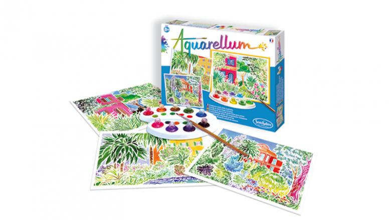 """Jednym z zestawów Aquarellum jest """"Amazonia"""" (fot. mat. sklep.placfrancuski.pl)"""