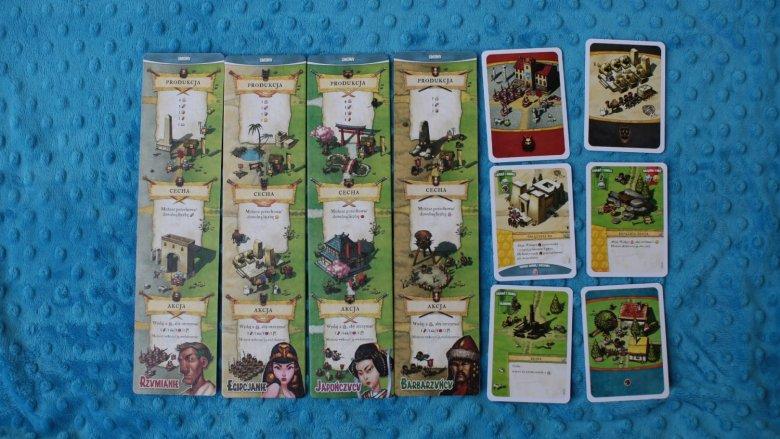 """""""Osadnicy. Narodziny Imperium"""" to gra, w której wcielacie się w przywódcę cywilizacji od wydawnictwa Portal Games (fot. Ewelina Zielińska)"""