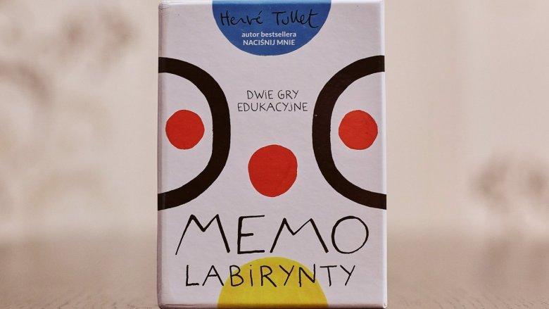 """""""Memo Labirynt"""" to niesamowita kreatywna zabawa autorstwa Herve Tulleta (fot. Ewelina Zielińska)"""