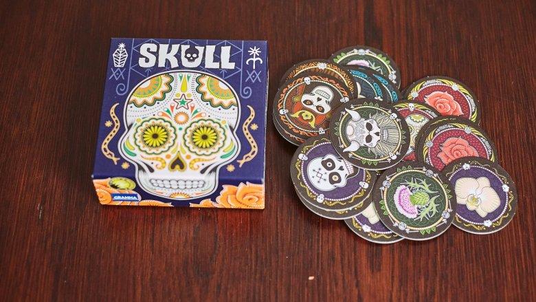 """""""Skull"""" to kolejna propozycja z serii """"Gry z pazurem"""" od wydawnictwa Granna (fot. Ewelina Zielińska)"""