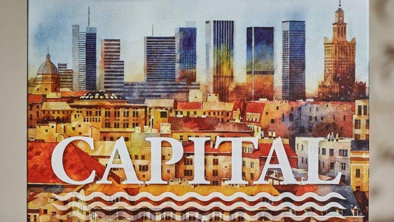 """""""Capital"""" to gra rodzinna, która gwarantuje świetną zabawę i moc wyzwań starszym dzieciom oraz dorosłym (fot. Ewelina Zielińska)"""