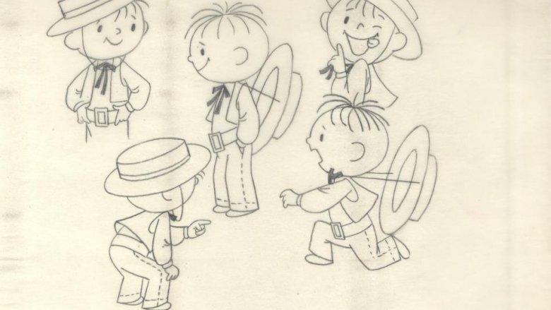 Dawniej wszystkie rysunki były wykonywane ręcznie, bez użycia komputerów (fot. materiały SFR)