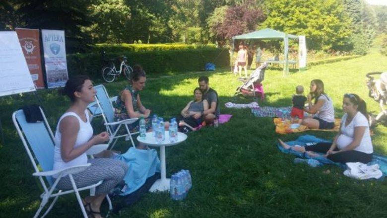 Świadome Rodzicielstwo Miś Kuleczka zaprasza na spotkania i warsztaty w Parku Śląskim (fot. mat. Miś Kuleczka)