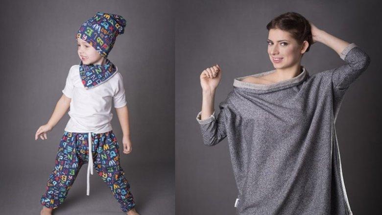 Ubranka marki Super Gizd wykonane są z najwyższej jakości materiałów (fot. mat. Super Gizd)
