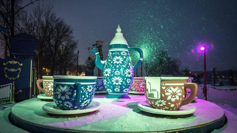 Legendia zimą jest pełna uroku (fot. mat. Lunaparku)