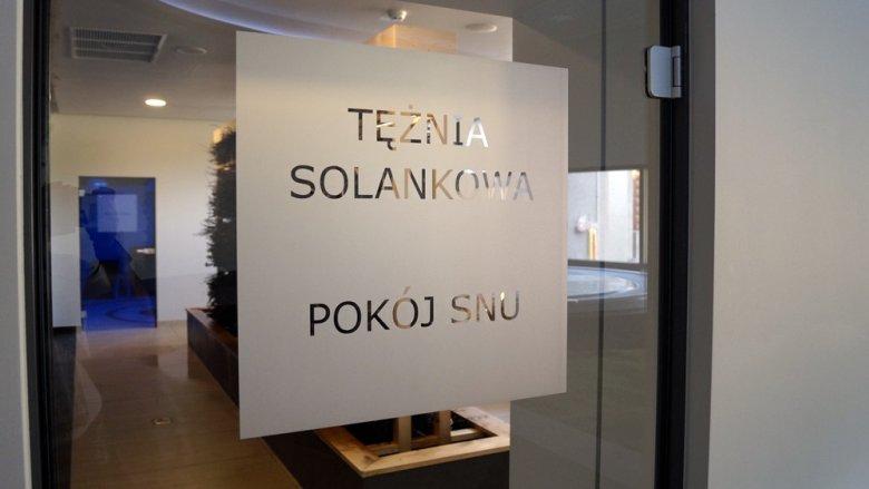 Goście będą mogli skorzystać m.in. z inhalacji w jaskini solnej oraz tężni, a także z rozgrzania swojego ciała w suchej saunie fińskiej (fot. SilesiaDzieci.pl)
