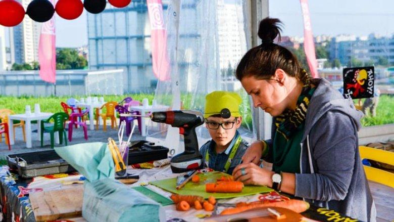 Piracka wioska Junior Art Festivalu