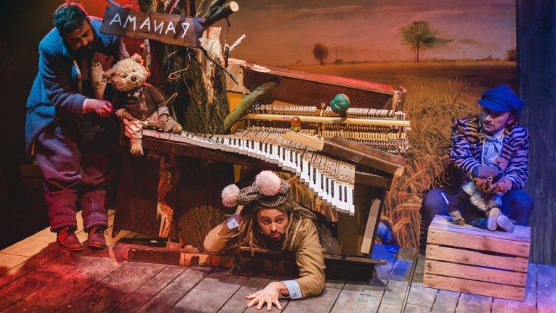 Przedstawienie zrealizowano według opowiadania Janoscha (fot. mat. organizatora)