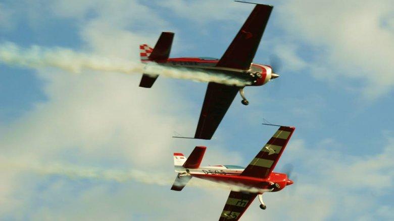 Podczas Śląskiego Air Show będzie można podziwiać akrobacje lotnicze w wykonaniu takich samolotów jak ZLIN 526 AFS, WILGA 2000 czy myśliwców MIG-29 (fot. mat. organizatora)