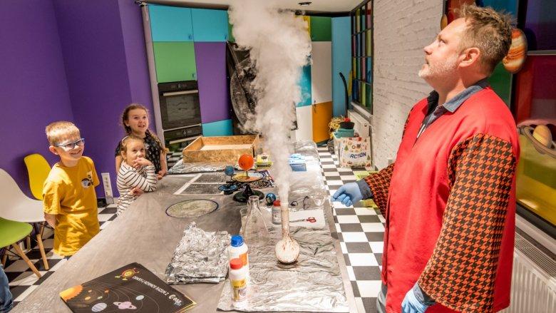 Nie zabraknie ciekawych eksperymentów (fot. mat. organizatora)