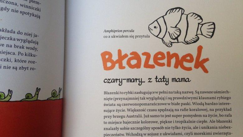 Książka to zbiór opowiastek, które w humorystyczny i przystępny sposób przedstawią najmłodszym intymne życie zwierząt (fot. Ewelina Zielińska/SilesiaDzieci.pl)