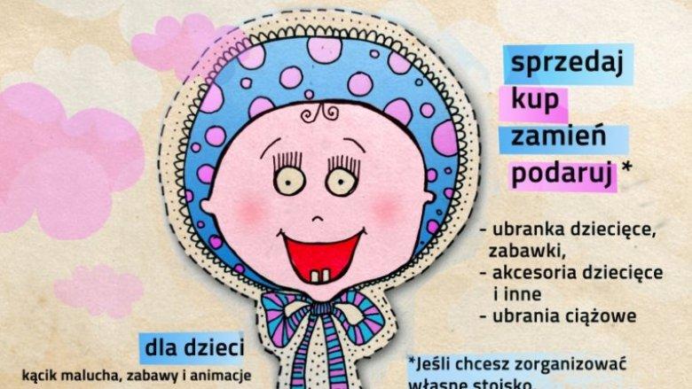 Baby Bazar to kiermasz skierowany do rodziców dzieci w wieku 0-3 lata oraz kobiet w ciąży (fot. mat. organizatora)