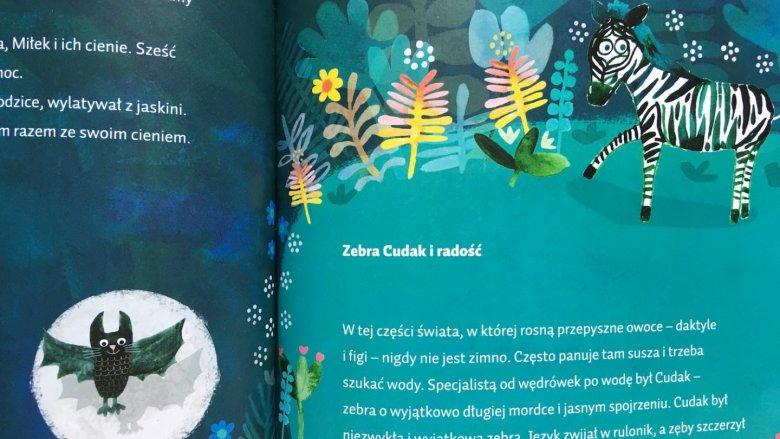 """""""Bajki z dżungli i oceanu"""" wyd. Media Rodzina, to doskonała lektura zarówno dla przedszkolaków, jak i starszych dzieci (fot. Ewelina Zielińska/SilesiaDzieci.pl)"""