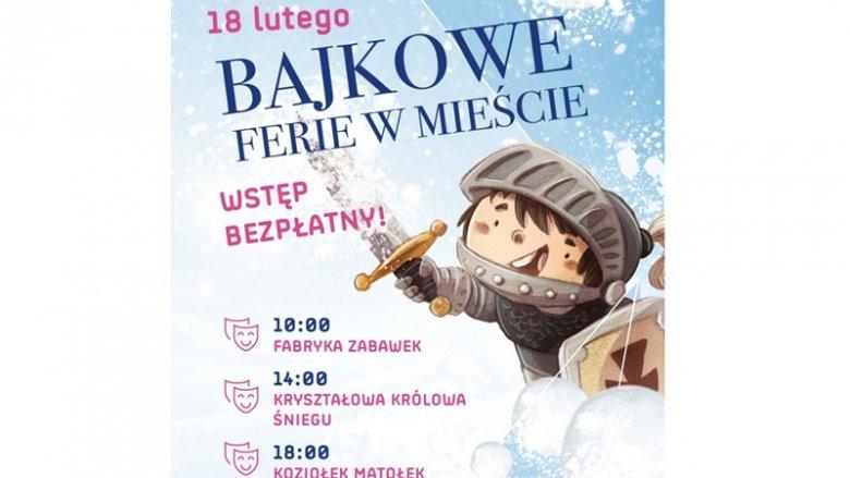 Trzy spektakle będzie można obejrzeć 18 lutego na poziomie 2. Galerii Katowickiej (fot. mat. organizatora)