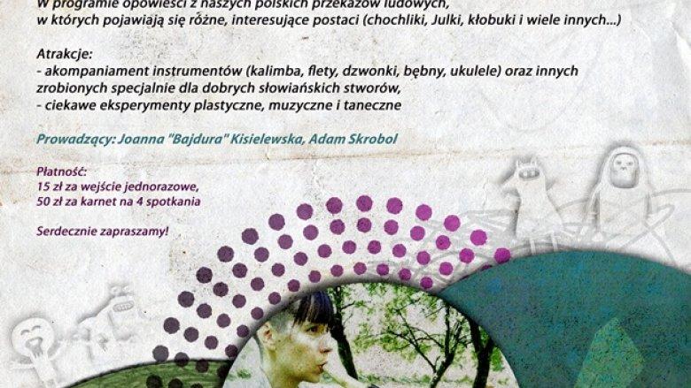 """MOK Żory zaprasza na """"Baśnie czterech stworów"""" czyli spotkania z baśniami polskimi dla dzieci (fot. materiały organizatora)"""