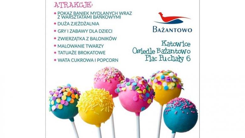 Na wiele atrakcji mogą liczyć dzieci, które odwiedzą C.H. Bażantowo 22 września (fot. mat. organizatora)