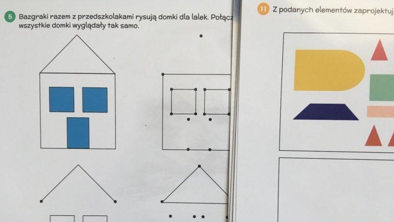 """Choć w """"Bazgrakach"""" nie ma żmudnego przepisywania literek, to dzieci mają wiele okazji do ćwiczenia rączek (fot. Ewelina Zielińska/SilesiaDzieci.pl)"""