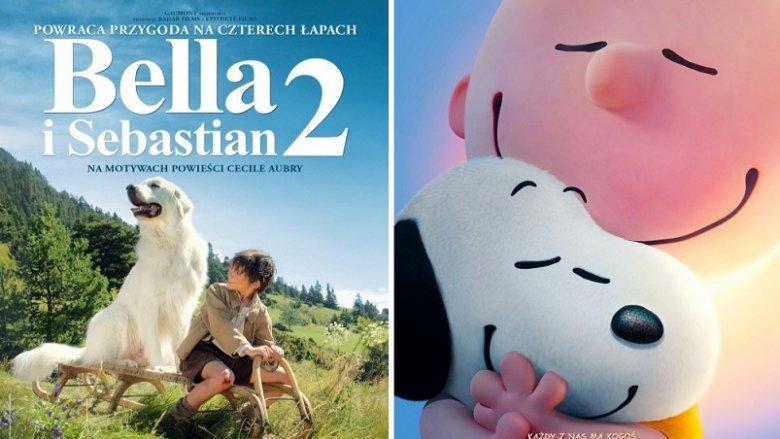 "Mamy dla Was bilety na ""Bellę i Sebastiana 2"" oraz ""Fistaszki"" (fot. mat. Planet Cinema)"