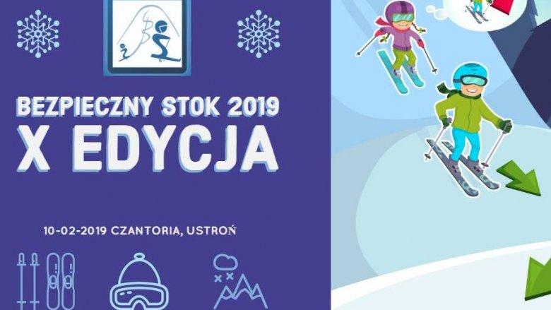 """Akcja """"Bezpieczny stok 2019"""" jest organizowana przez Polskie Stacje Narciarskie i Turystyczne (fot. mat. organizatora)"""