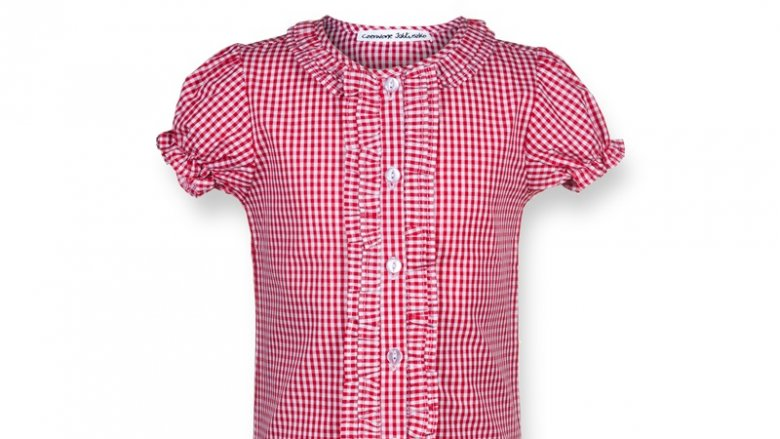 Ubranka firmy Czerwone Jabłuszko inspirowane są modą dziecięcą retro z lat trzydziestych, pięćdziesiątych i sześćdziesiątych ub. wieku (fot. mat. Czerwonego Jabłuszka)