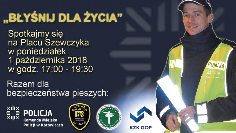 """Inauguracja akcji """"Błyśnij dla życia"""" odbędzie się 1 października na Placu Szewczyka (fot. mat. organizatora)"""