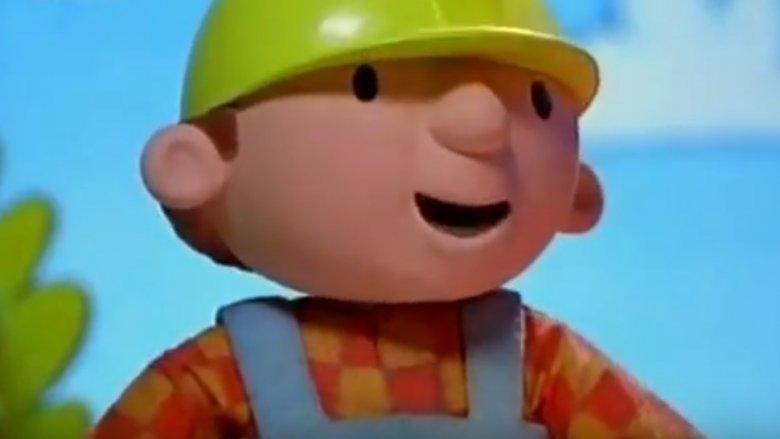 """Bob Budowniczy to postać bardzo popularna wśród najmłodszych odbiorców kreskówek (fot. kadr z filmu """"Bob Budowniczy ratuje jeże"""")"""