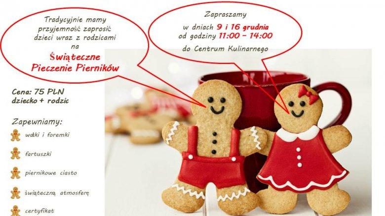 Świąteczne pierczenie pierników odbędzie się w dwóch terminach: 9 i 16 grudnia (fot. mat. organizatora)