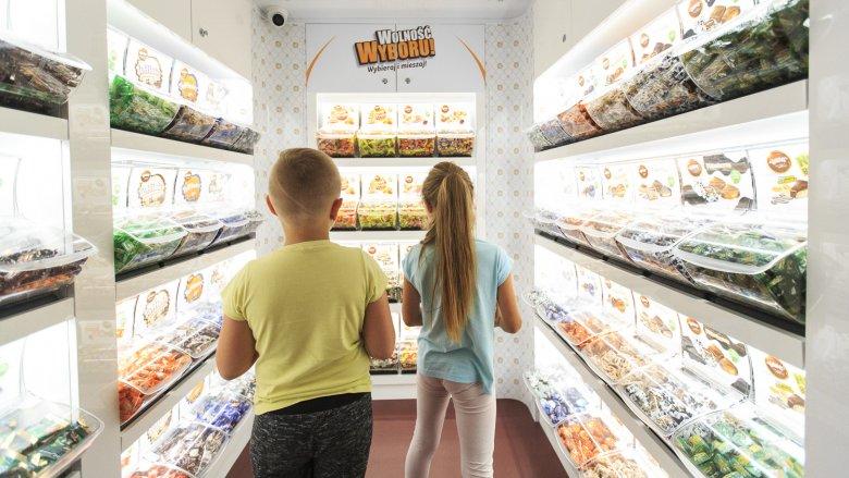 W magicznej strefie Wolności Wyboru będzie można skomponować i zabrać ze sobą miks swoich ulubionych słodyczy (fot. mat. organizatora)