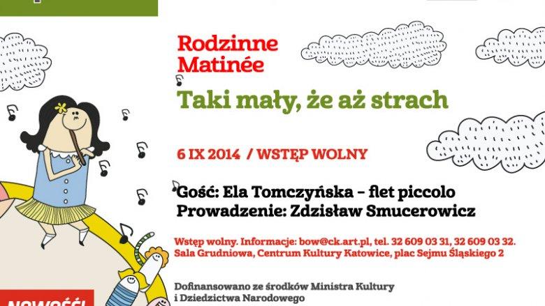 Zbliża się kolejne spotkanie z cyklu Rodzinne Matinée (fot. materiały CKK)