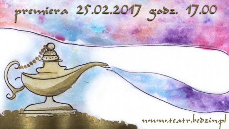 Plakat do spektaklu został wybrany spośród prac konkursowych wysyłanych przez małych widzów teatru (fot. mat. organizatora)