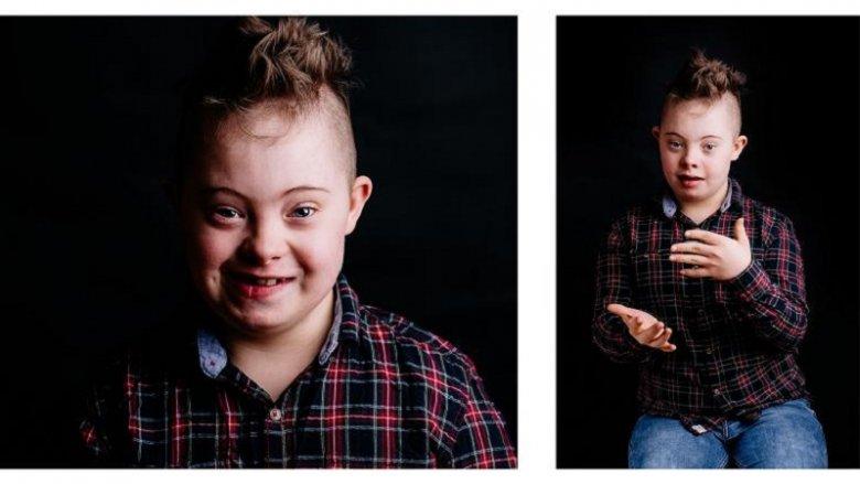 Wystawa  to cykl portretów, przedstawionych za pomocą 3 fotografii (fot. mat. organizatora)