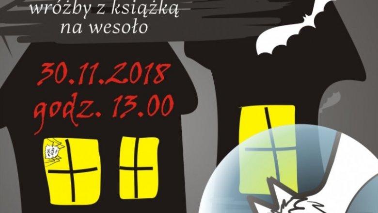 Wróżby z książką na wesoło - tak zapowiadają się andrzejki w sosnowieckiej Mediatece (fot. mat. organizatora)