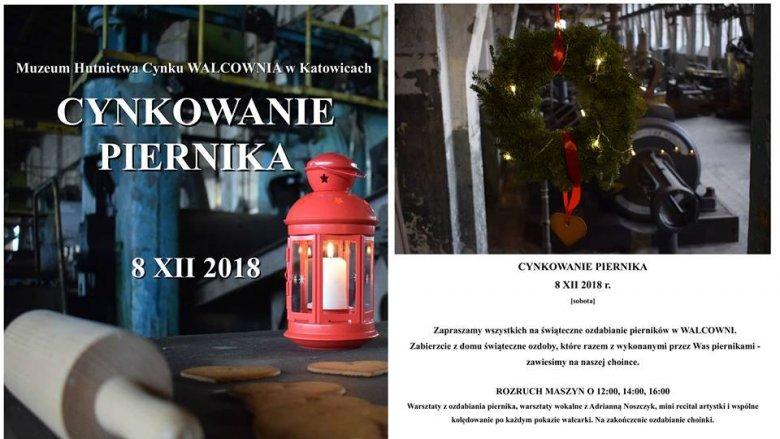 """""""Cynkowanie piernika"""" odbędzie się 8 grudnia w katowickiej Walcowni (fot. mat. organizatora)"""