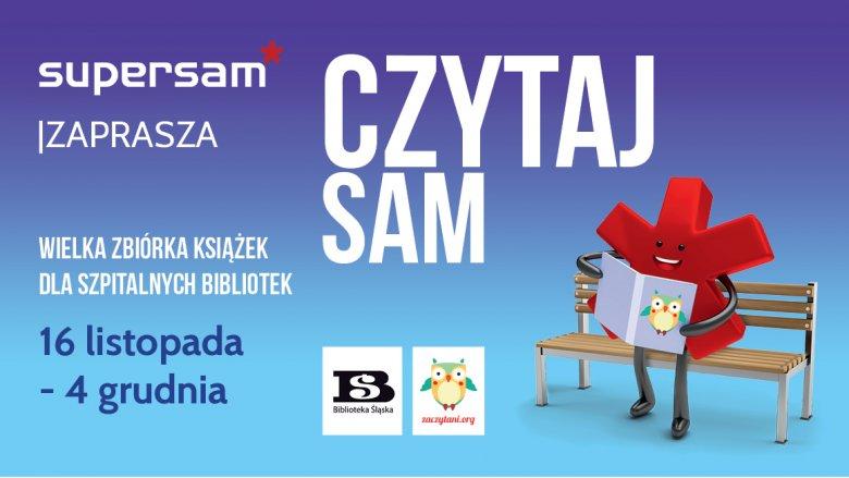"""Akcja zbierania książek """"Czytaj sam"""" potrwa do 4 grudnia (fot. mat. organizatora)"""